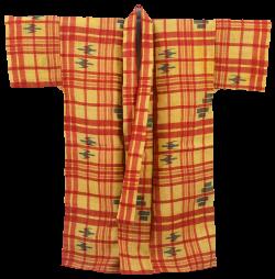 縞と絣の夏衣裳