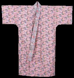 桃色地の衣裳